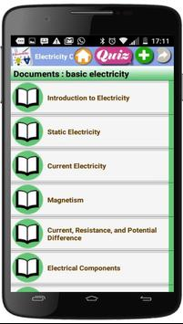Electricity Courses poster