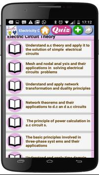 Electricity Courses screenshot 3