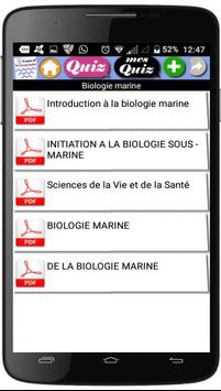 Cours d'Océanographie apk screenshot