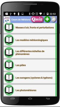 Cours de Météorologie screenshot 4