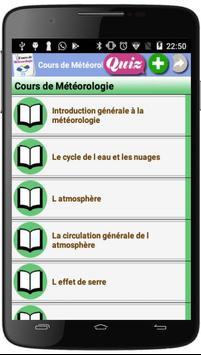 Cours de Météorologie poster