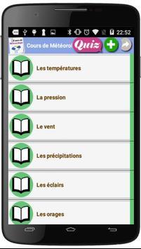 Cours de Météorologie screenshot 2