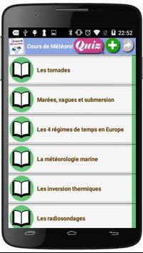 Cours de Météorologie screenshot 3