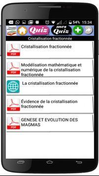 Cours de Pétrologie magmatique apk screenshot