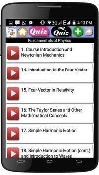 Physics Courses screenshot 3