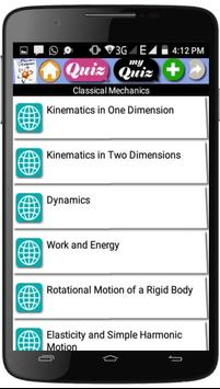 Physics Courses screenshot 1