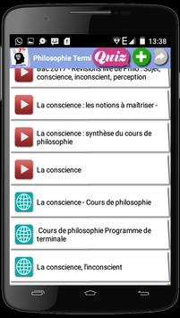 Philosophie Terminale screenshot 1