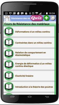 Cours de Résistance des matériaux poster
