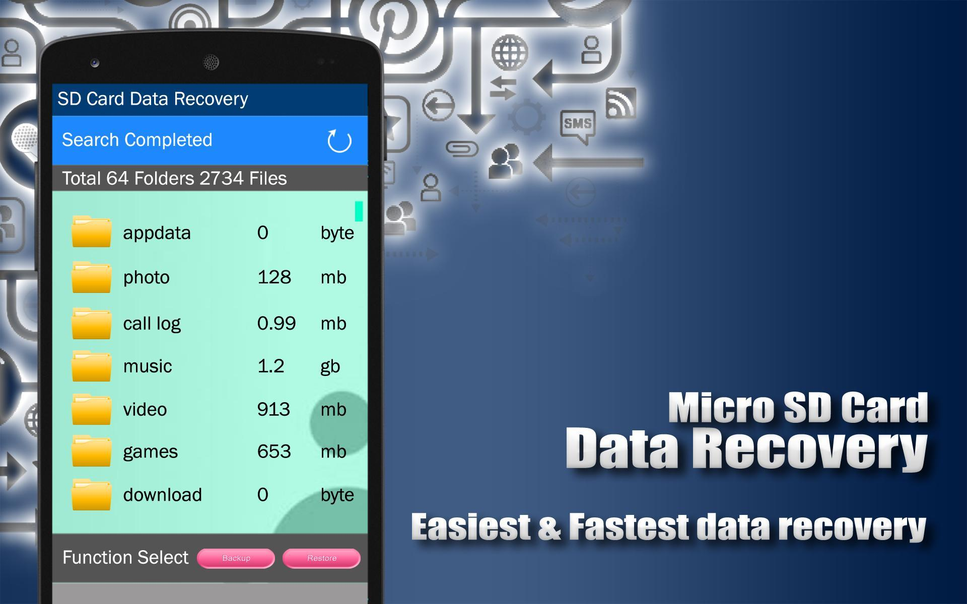 Micro SD Card Data Recovery for Android - APK Download