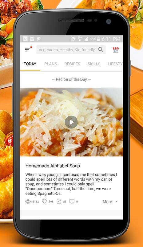 Cookbook recipes tasty delicious cooking videos for android apk cookbook recipes tasty delicious cooking videos poster forumfinder Gallery