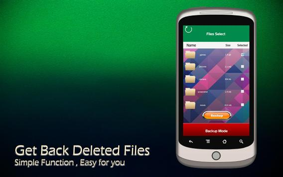 Get Back Deleted Files screenshot 1