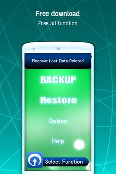 Recover Lost Data Deleted apk screenshot