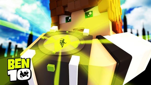 Skin Ben10 For MCPE poster