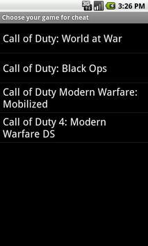 Game Cheats screenshot 3