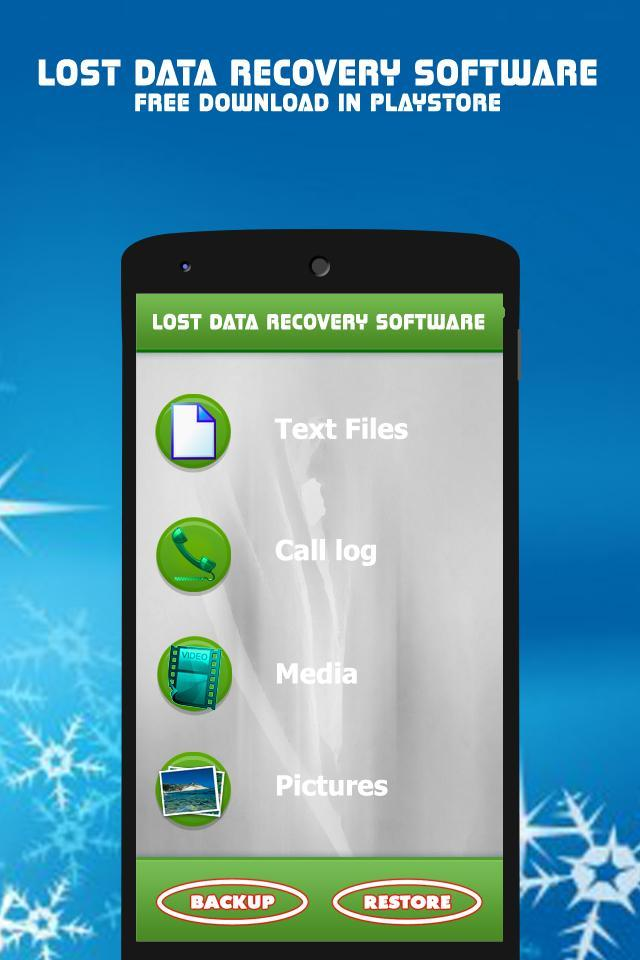 data recovery software for android free download apk