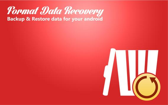 Format Data Recovery poster