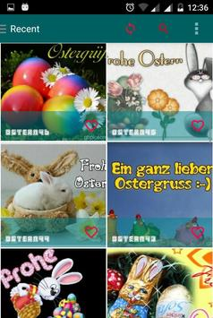 Frohe Ostern poster