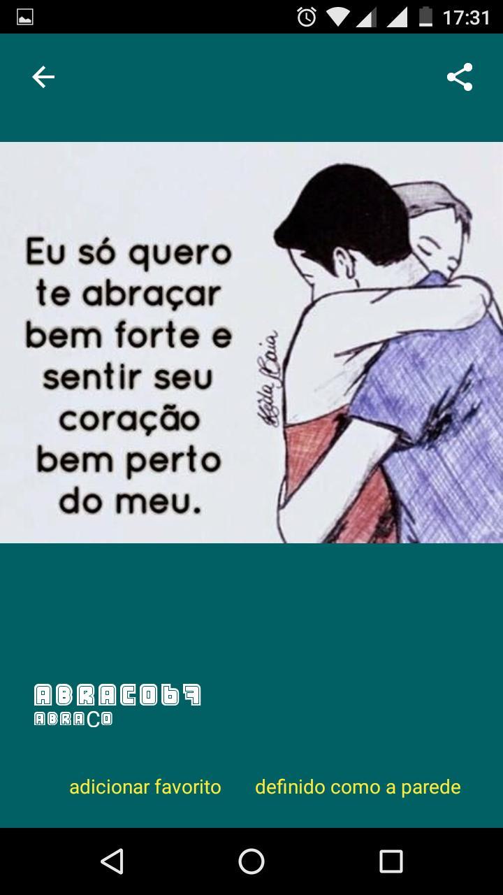 Abraço Frases Em Imagens For Android Apk Download