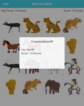 Smart Memory Game apk screenshot