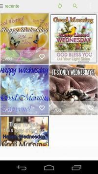 Happy Wednesday poster