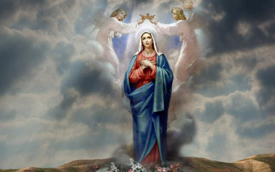 Virgin Mary Live Wallpaper apk screenshot
