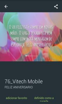 Mensagens de Feliz Aniversário screenshot 7
