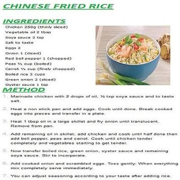 New chinese rice english recipes descarga apk gratis comer y beber new chinese rice english recipes poster new chinese rice english recipes captura de pantalla de la apk forumfinder Images