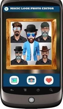 Selfie Man Face Stickers poster