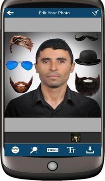 Selfie Man Face Stickers screenshot 1