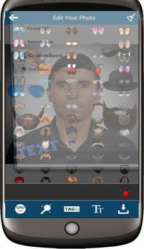 Selfie Man Face Stickers screenshot 3