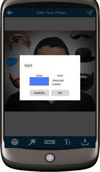 Selfie Man Face Stickers screenshot 5