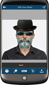 Selfie Man Face Stickers screenshot 6