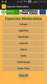 Especies Maderables screenshot 1