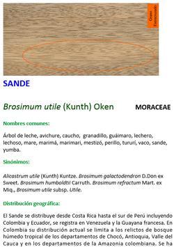 Especies Maderables apk screenshot
