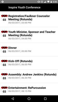 Inspire Youth Conference apk screenshot
