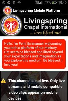 Livingspring Mobile poster
