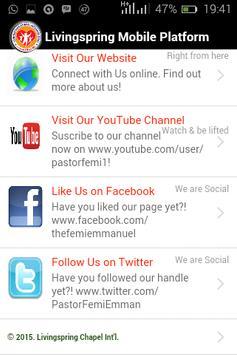 Livingspring Mobile apk screenshot