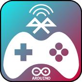 Joystick Arduino Bluetooth icon