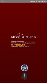 MISSICON 2016 poster