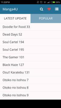 Manga Today - Manga 4U screenshot 1