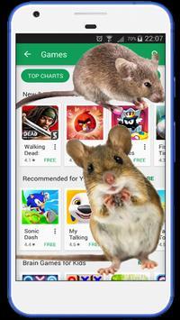 Mouse run in phone Prank screenshot 1