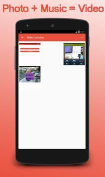 Photo And Music To Video Converter screenshot 1