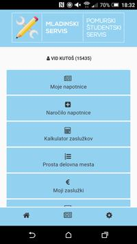 Mladinski servis Murska Sobota poster