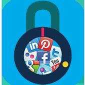 Social Lock - All Social Media apps locker icon