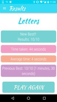 Letters and Math Quiz Game screenshot 7