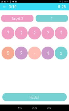 Letters and Math Quiz Game apk screenshot