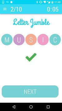 Letters and Math Quiz Game screenshot 2
