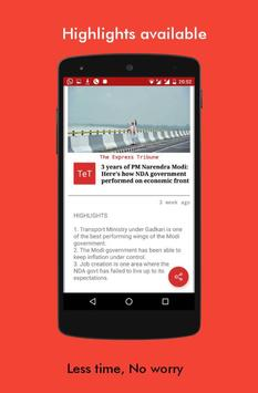 News Views -Read Indian press views at one place apk screenshot