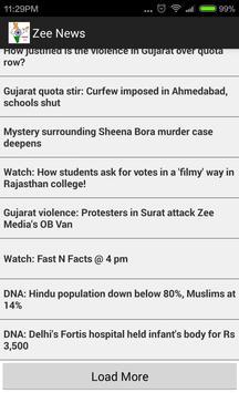 Indian News Z screenshot 1