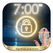Fingerprint - Night PRANK icon